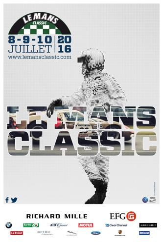 Affiche Le Mans Classic 2016