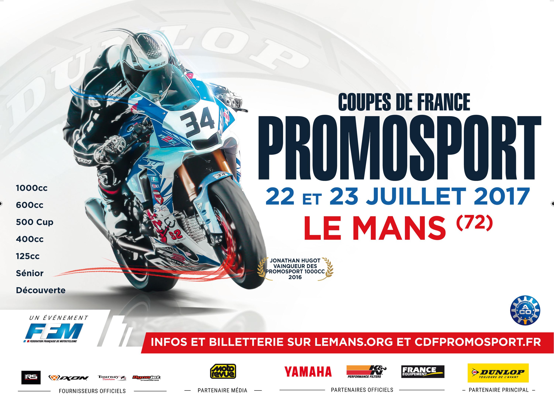 Coupe de France Promosport - Le Mans - 22/23 juillet 2017
