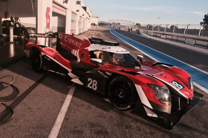 LM P2 class competitors are prepping for the season and the 24 Hours of Le Mans