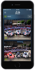 iPhone 6 24H Le Mans Mobile App