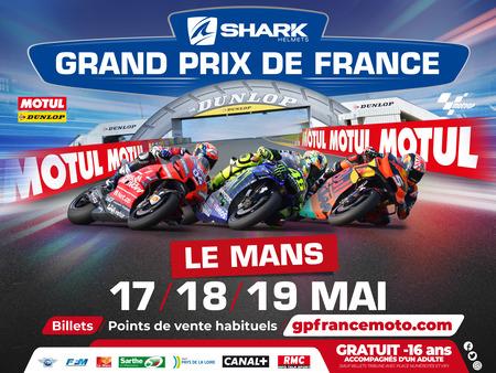 AfficheGrand Prix de France Moto 2018